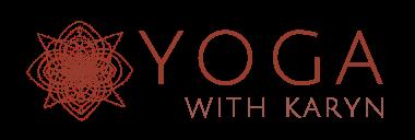 yoga with karyn logo